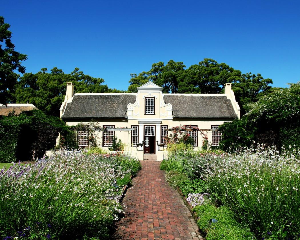 Villa Land country Weg Garten