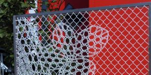 fence, modern fence, garden fence, aluminum fence