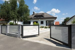 gate quality, double wing gate, aluminum gate entrance, sliding gate cheap