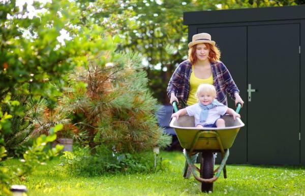 Gartenhütte, Naturparadies, Garten pflegen, gartenzaun günstig, gartenhütte modern