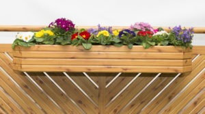 Blumenkisten, Holzoptik, Balkon, Balkon günstig, Balkon Holzoptik