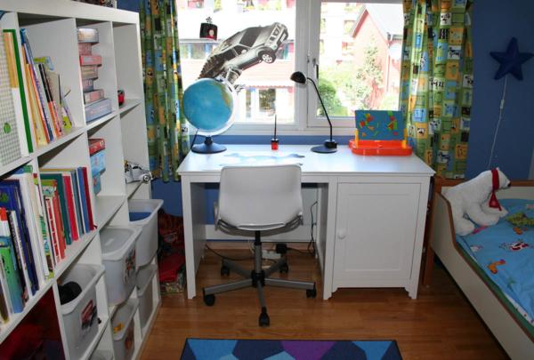 kinderzimmer, lernatmosphäre zu hause, zaun, sichtschutz