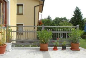 GUARDI, Österreich, Balkon brüstung, balkongeländer, Modell des Monats, Gloriette, balkon, Aluminium, Herbst, Design, Modern, zäune