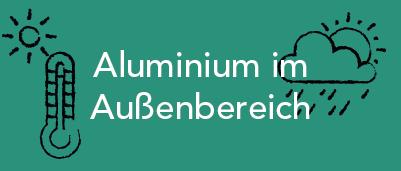 Kategoriebild für die Kategorie Aluminium im Außenbereich im GUARDI Blog