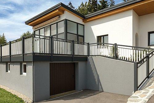 Guardi, balkon, balkonsanierung, balkongeländer alu, balkon alu, balkongeländer,