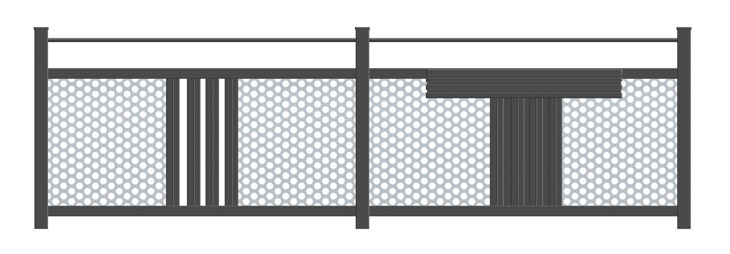 Guardi, Balkon, Österreich, Aluminium, Alu Balkon, Balkongeländer