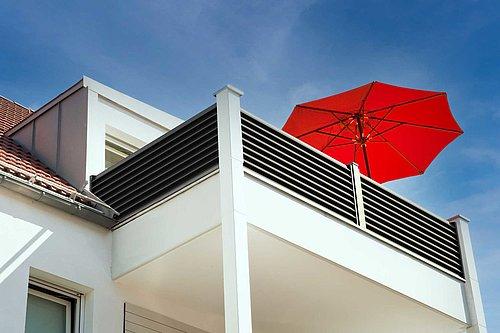 Guardi, balkone, alu balkon, balkongeländer, balkongeländer alu,